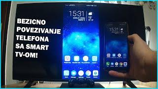 Kako povezati telefon sa smart TV-om?