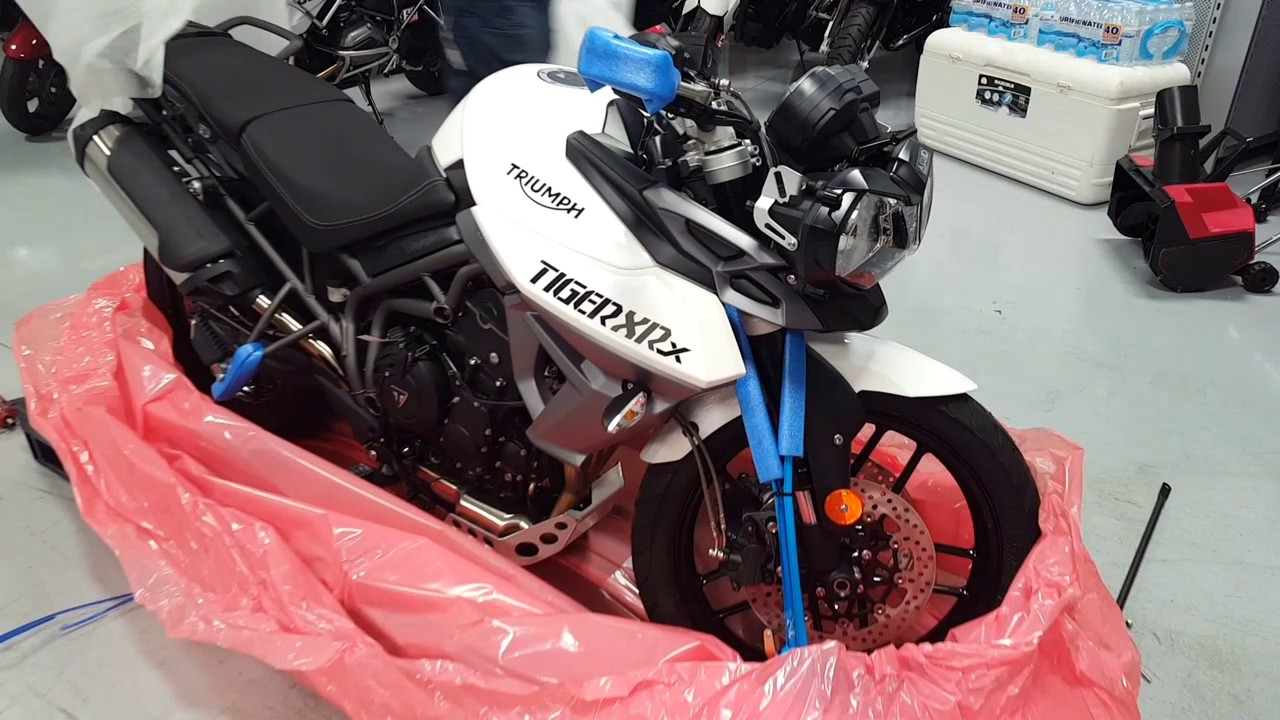 2017 Triumph Tiger 800 Xrx Low Ride Height In Crystal White