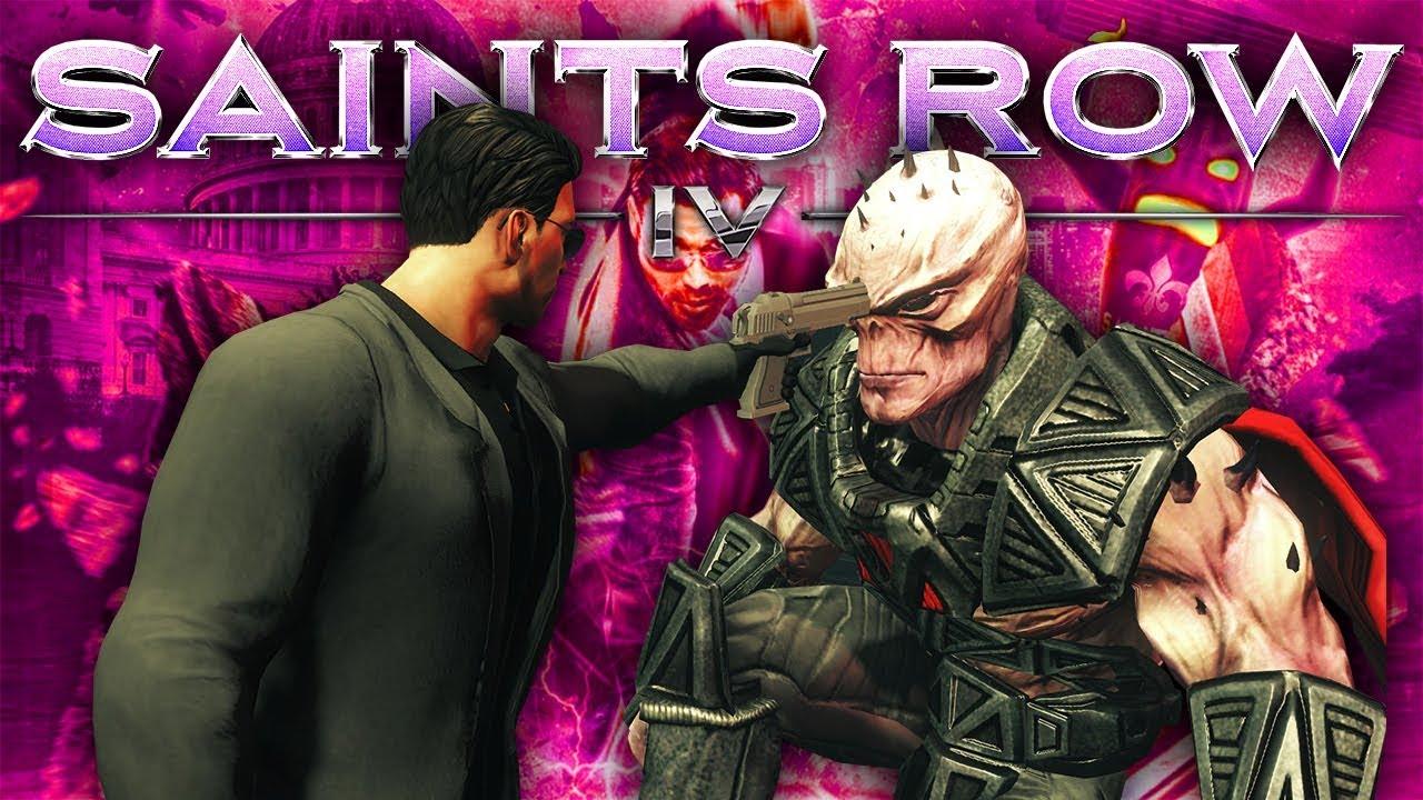ALIEN BIKER GANG - Saints Row IV - YouTube