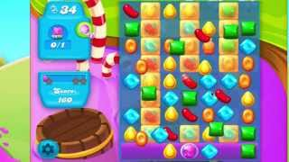 Candy Crush Soda Saga Level 134 No Boosters  38k