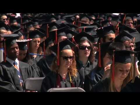 UVA Graduates Get Degrees on Glorious Day