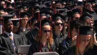 UVA Graduates Get Degrees on Glorious Day