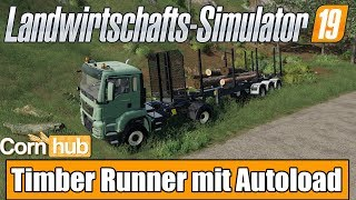 FS 19: Timber Runner Wide With Autoload Wood v 1 2 Other