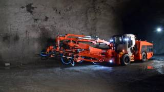 Sandvik DS411 Rock support drill