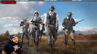 FUNNY Streamers Reactions To Killing SHROUD On PUBG