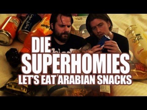Die Superhomies in den Arabischen Emiraten - Let's Eat Arabian Snacks (mit Gronkh und Sarazar)