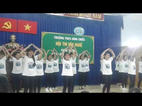 Thi dân vũ lớp 8/2 THCS Bình Chiểu _Việt Nam ơi_Waka.Solo:  Blood, Sweet&Tear BTS_Seve