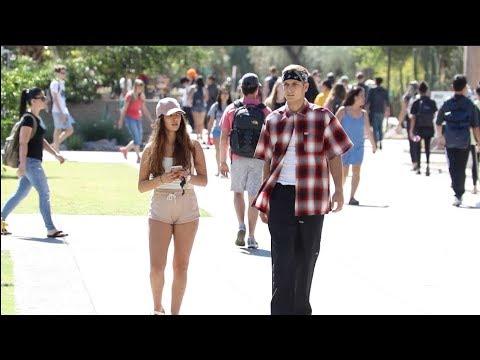 Cholo Walking Next to People