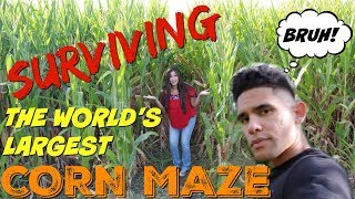 Date At The World's Largest Corn Maze (gone Wrong!)