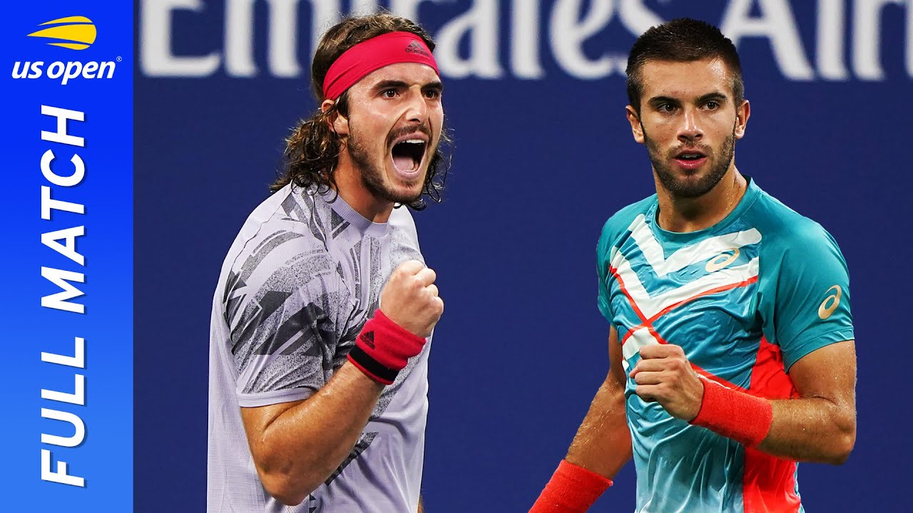 Stefanos Tsitsipas vs Borna Coric in a five-set thriller! | US Open 2020 Round 3