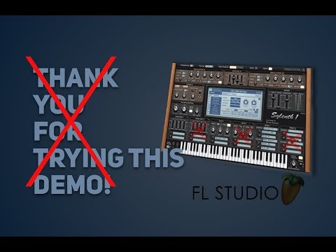 "How to get rid of ""Thank you for trying this Demo"" (only in your final render). FL 12.5"