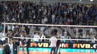 19-06-2015: Italia-Brasile, La dedica di Ivan Zaytsev ad Aimone Alletti