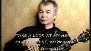 John Prine with Bruce Springsteen -