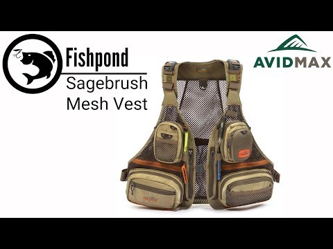 Fishpond Sagebrush Mesh Vest Review   AvidMax