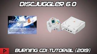 Burn CDI Images Using DiscJuggler 6.0 for Dreamcast (2019)