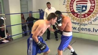 12.09.2015 Ruslans Berdimuradovs (Latvia) VS Aleksandrs Mironovs (Latvia) proboxing.eu