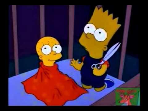 Los Simpsons   Bart tiene celos de Lisa