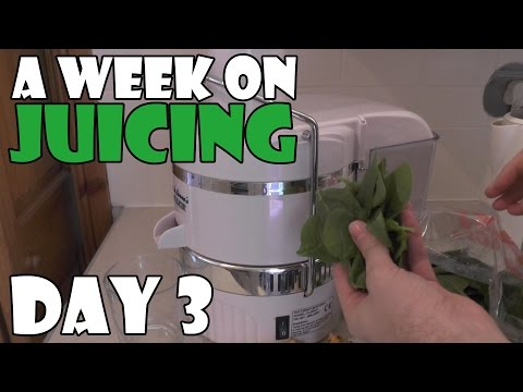 A Week On Juicing Day 3