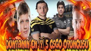 Dünyanın En İyi 5 CSGO Oyuncusu w/XANTARES,COLDZERA,S1MPLE,NiKo,Get Right #2