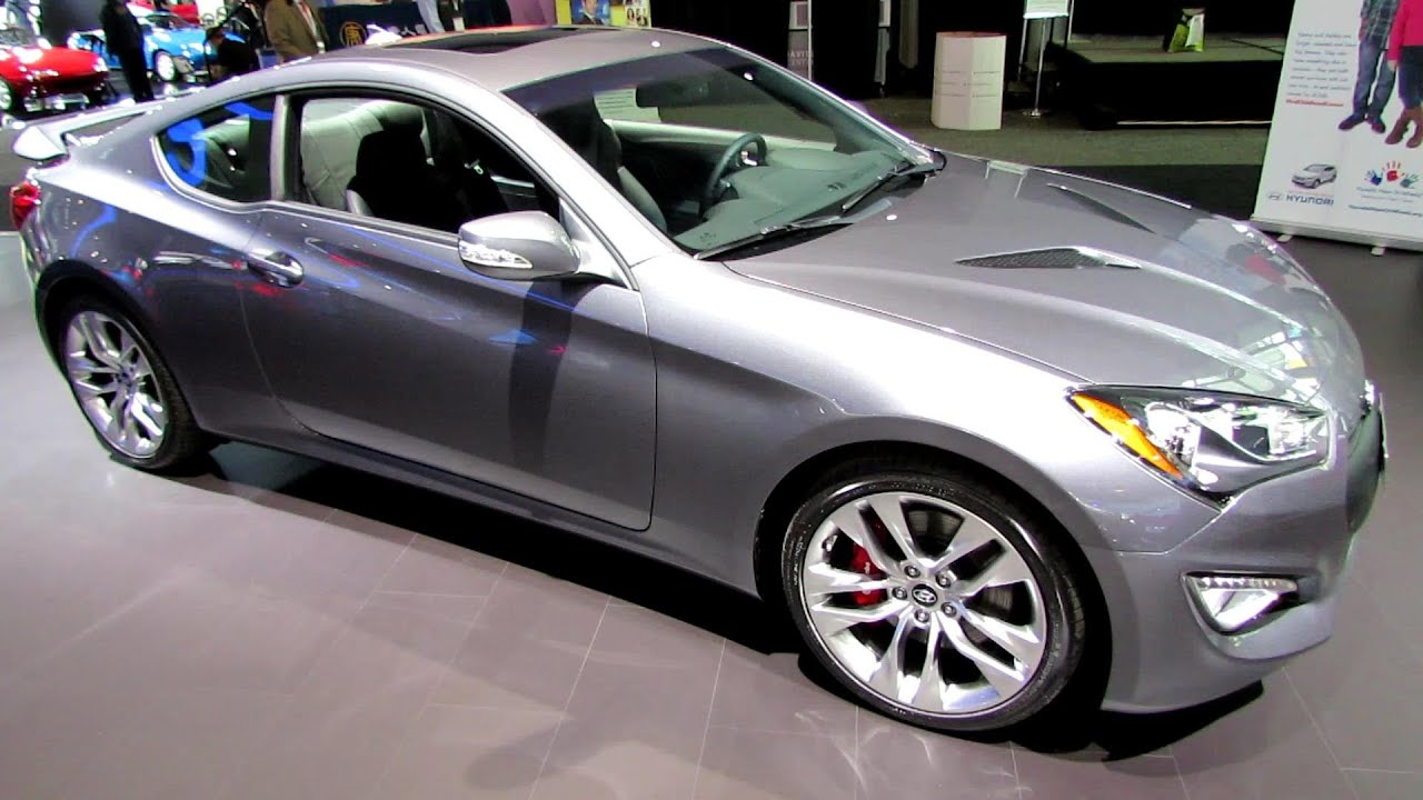 2014 Hyundai Genesis Coupe 3.8   Exterior And Interior Walkaround   2014  New York Auto Show   YouTube