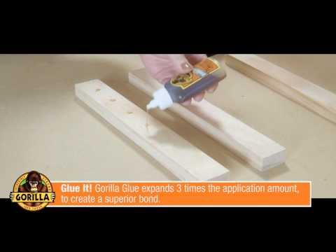 How To Use Gorilla Glue
