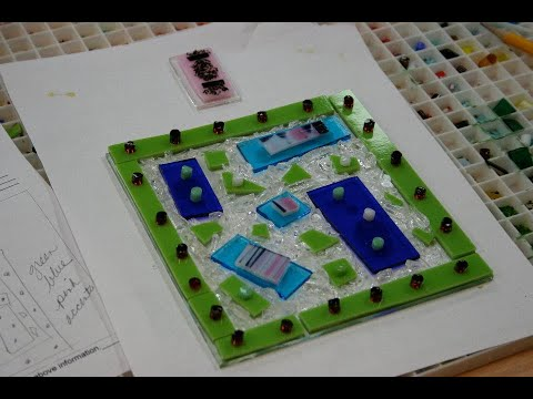 Learn how to do glass fusing at Creative Arts Studio!