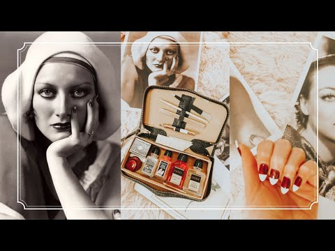 I Recreated Joan Crawford's 1930s Manicure: Popular Manicure Trends In The 1930s