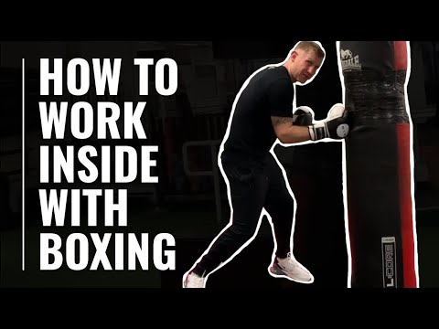 How To Work Inside with boxing | Tony Jeffries
