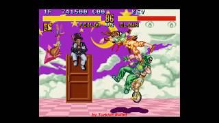 Fighter's History (Japan) (Super Famicom) - (Longplay - Liu Feilin | Hardest Difficulty)