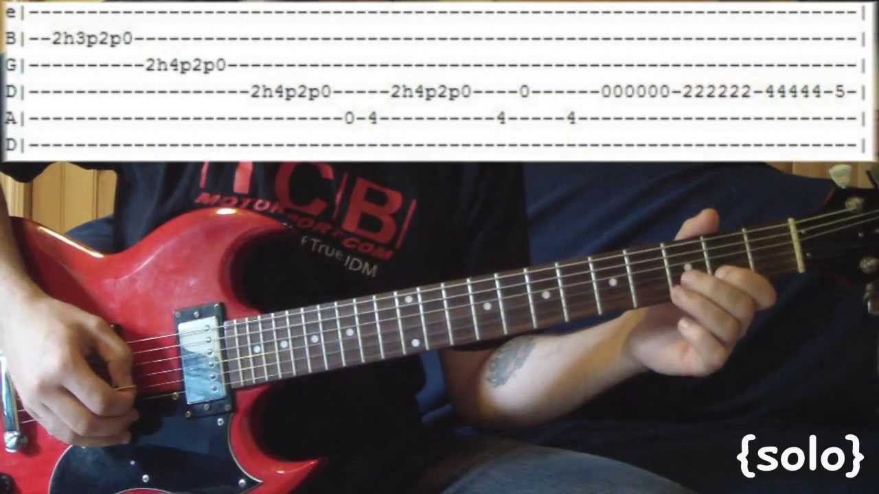 The Middle By Jimmy Eat World Full Guitar Lesson Tabs W Solo
