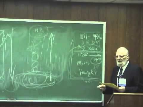 The History of Austrian Economics, Part 1 | Dr. Israel Kirzner
