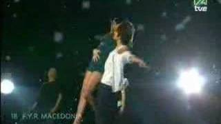 esc semi final 2007 fyr macedonia karolina goceva