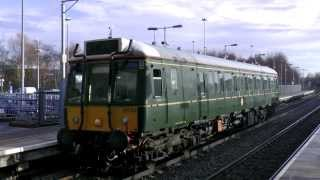 Green Bubble Car 121034 working 5Z21  X Country Route Learner Train