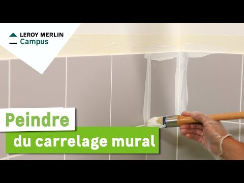 Comment Peindre Du Carrelage Mural ?   YouTube