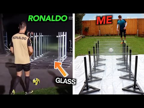 How Difficult are FOOTBALLERS Most INSANE VIRAL Moments?