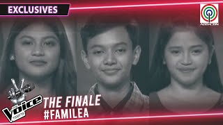 FamiLea Top 3 Teen Artists' Journey to Finale | The Voice Teens Philippines 2020