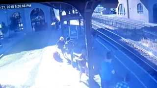 New Video of Runaway Rail Car Crash in Utica