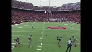 Saquon Barkley 97 yard kick return touchdown vs OSU! Penn State kickoff touchdown on first play