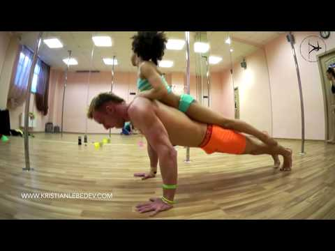 Pole sport inspiration Kristian Lebedev & Emily | Фитнес мотивация