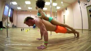 Repeat youtube video Pole sport inspiration Kristian Lebedev & Emily | Фитнес мотивация