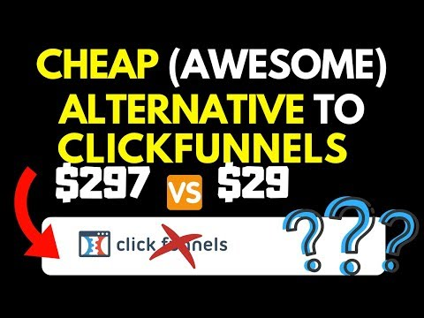 $29/mo Clickfunnels Alternative