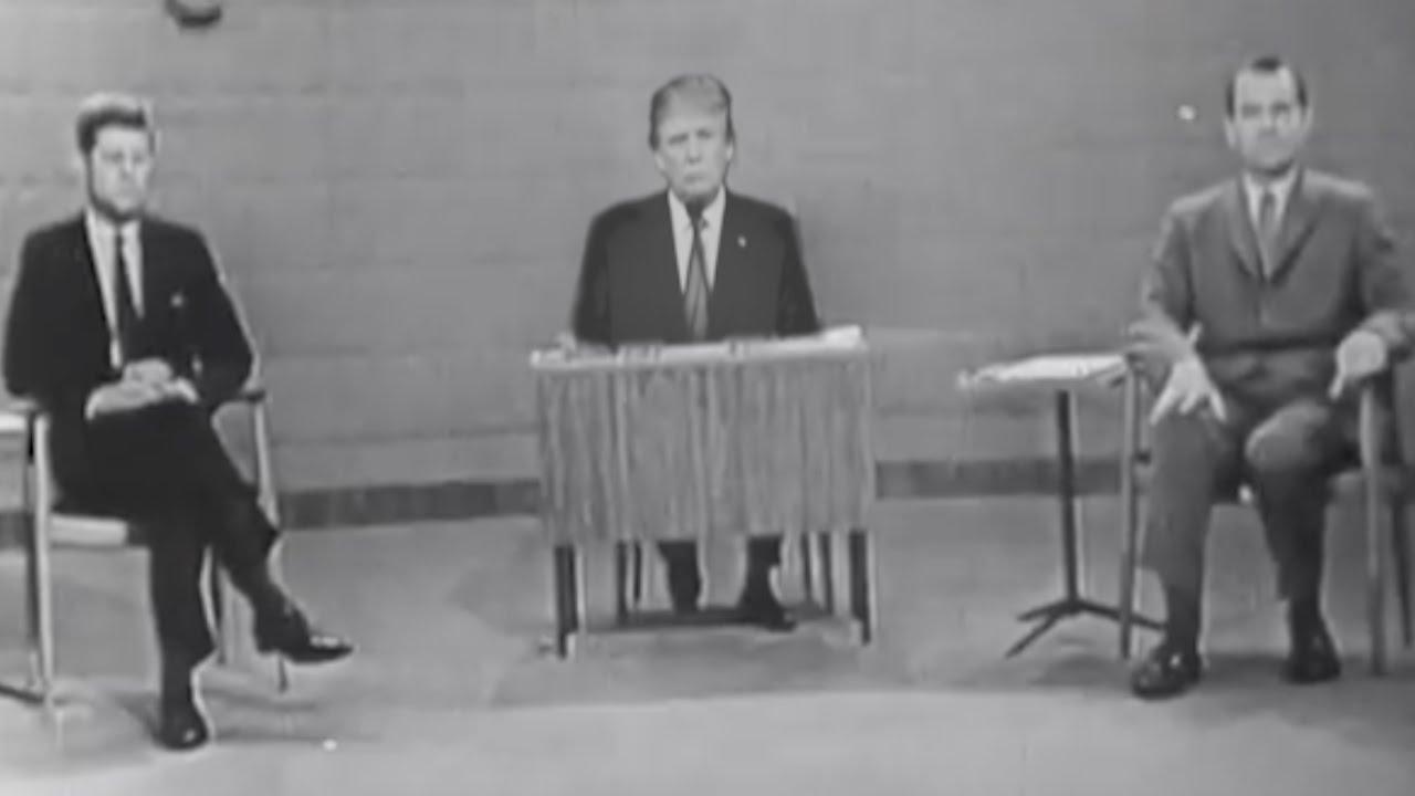 john f kennedy vs richard nixon Sneak peek: cnn's race for the white house: jfk vs  radio talk show host  and president of the museum of broadcast communications.