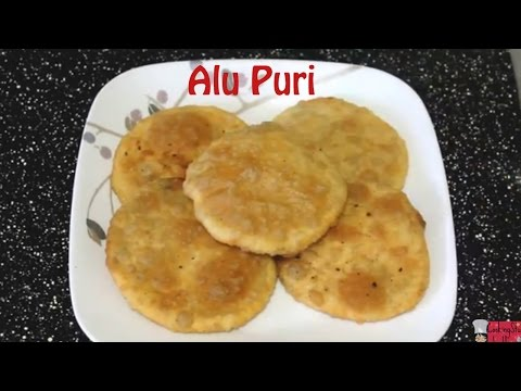 আলু পুরি || Bangladeshi alu puri recipe|| How to make alu puri