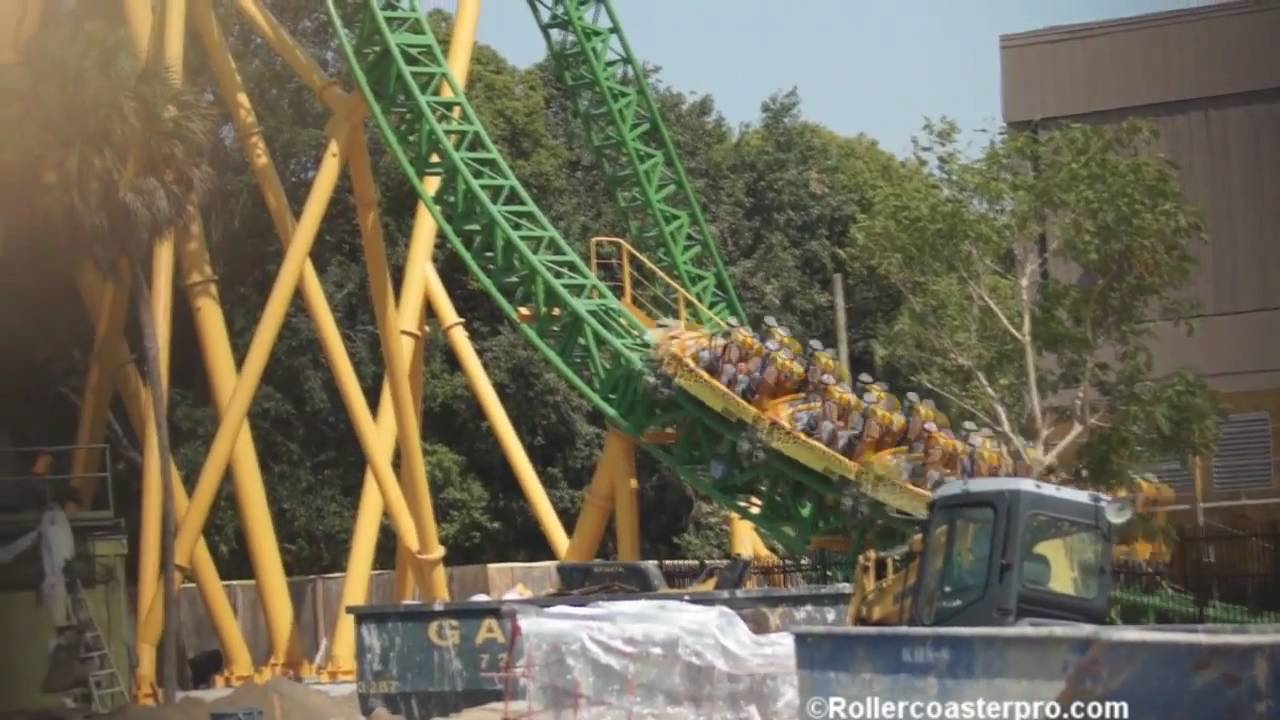 Cheetah Hunt Testing at Busch Gardens Tampa - YouTube