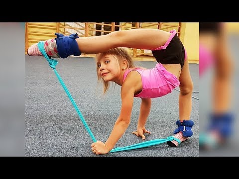 AMAZING FLEXIBLE and STRONG KIDS 2018