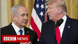 Trump releases long-awaited Middle-East peace plan - BBC News