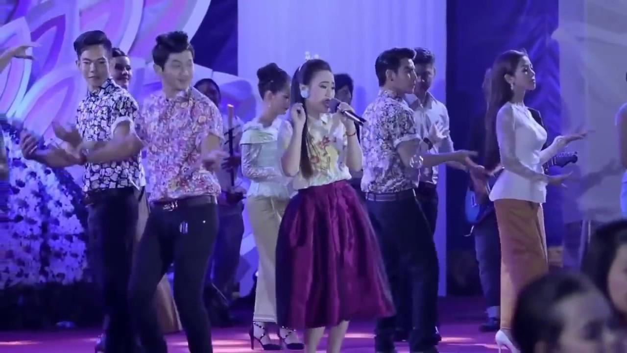 khmer romvong nonstop   khmer new year song 2016   cambodia music karaoke