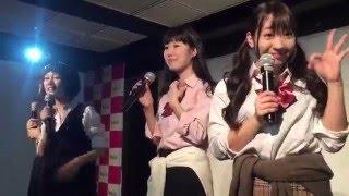 2016/04/15 定期ライブ『STEP by STEP』 /WALLOP 今回の衣装は制服! い...