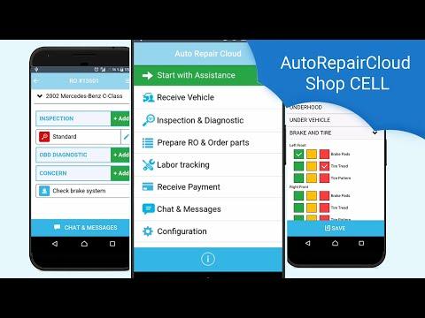 Auto Repair Cloud - Shop Cell