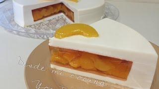 Gelatina de 3 Leches rellena de duraznos/Tres Leches JELLO with Peaches - DESDE MI COCINA by Lizzy thumbnail